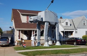 Two-Story AT-AT For Halloween