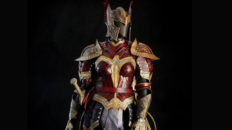 Wonder Woman Battle Armor