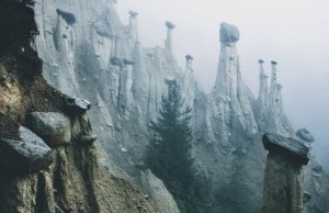 Earth Pyramids of Italy: Where Boulders Perch Atop Pillars ofClay