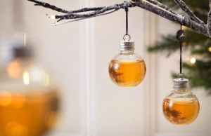 Whisky-Filled Christmas Ornaments