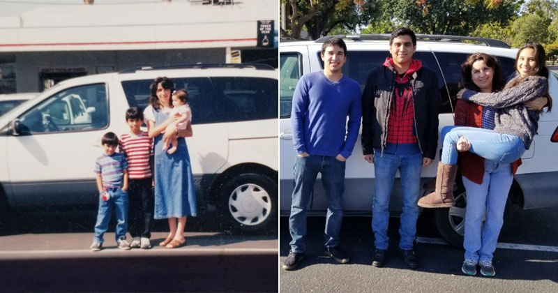 The Day We Bought the Family Van (1999) to the Day We Sold It(2017)