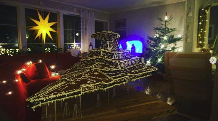 Gingerbread Imperial Star Destroyer