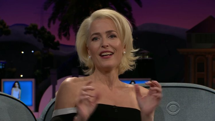 X-FILES Star Gillian Anderson Tells a Awkward Story About Her Son