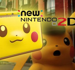 Nintendo 2DS Pikachu Edition