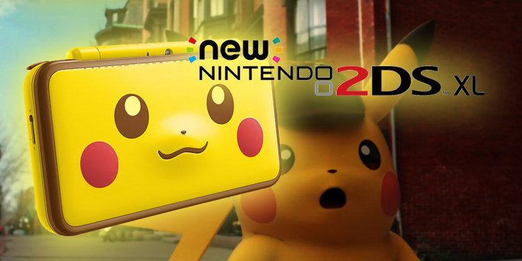 Nintendo 2DS Pikachu Edition