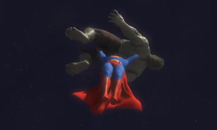 Superman and The Hulk