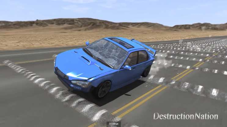 Virtual Vehicles Are Destroyed