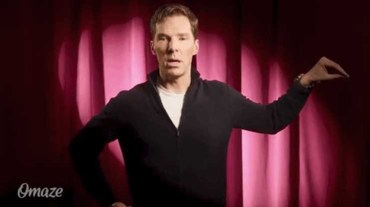 Benedict Cumberbatch Did a Stunning Dramatic Reading of 'I'm a Little Teapot'
