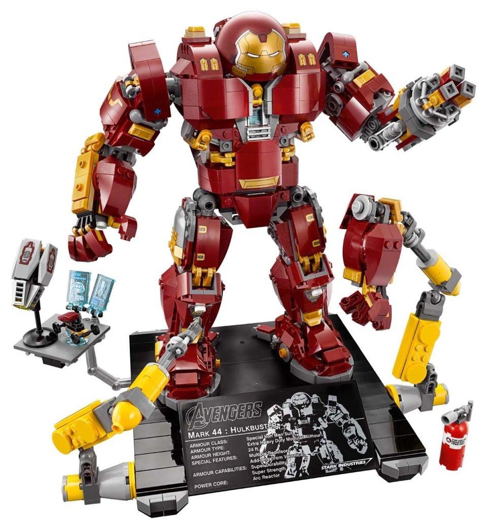 Iron Man Hulkbuster LEGO Playset