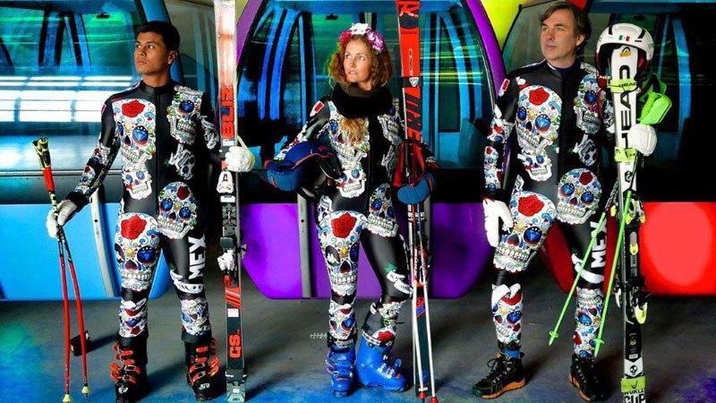 Mexico's Olympic Ski Team