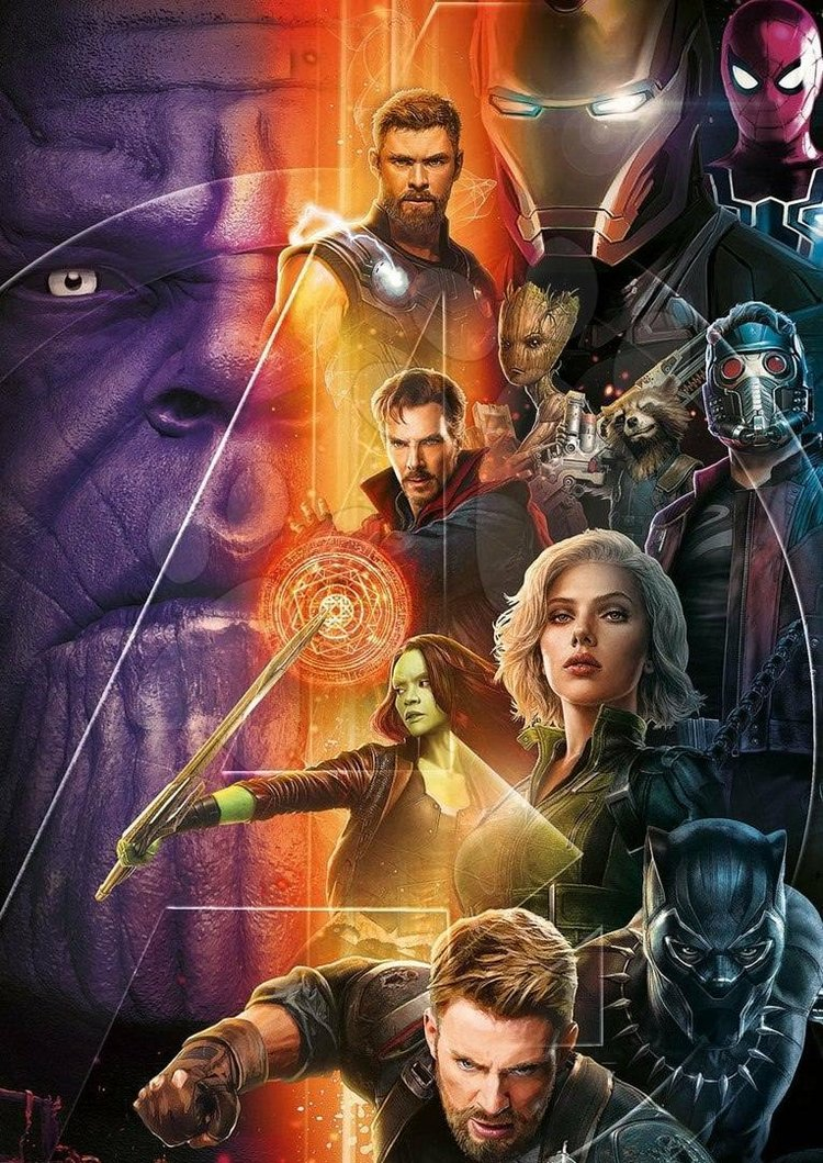 Avengers Infinity War Poster Brings All The Heroes Together Fizx