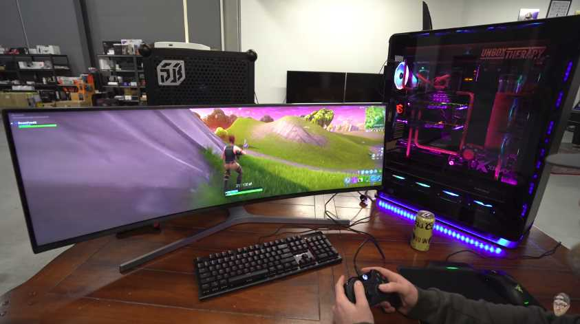 Check Out How Fortnite Looks On 20 000 Gaming Pc Fizx