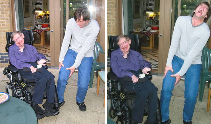 15 Hilarious Jokes By Stephen Hawking For The Fans