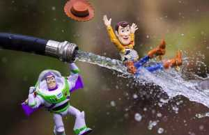Photo Series Featuring Toys Brought to Life Using Realistic Effects