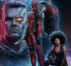 DEADPOOL 2 Poster Art