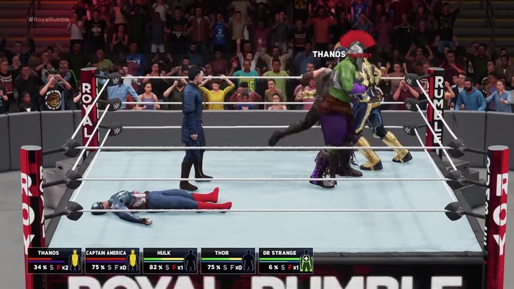 AVENGERS: INFINITY WAR In A Hilarious Royal Rumble