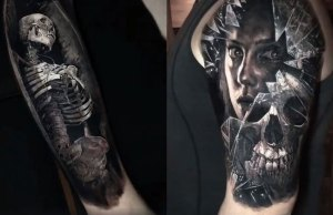 Realistic 3D Tattoos