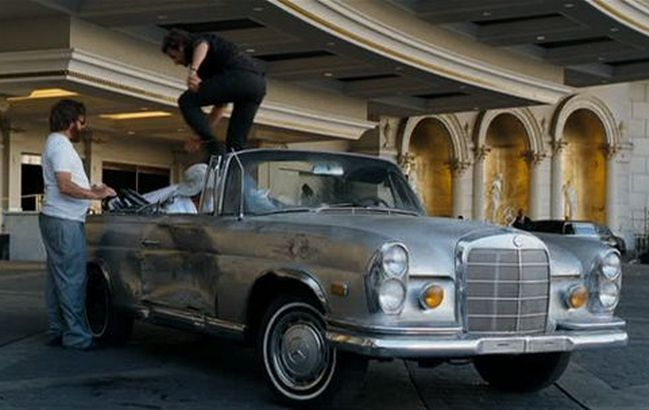 The Hangover – 1969 Mercedes-Benz 280SE Cabriolet
