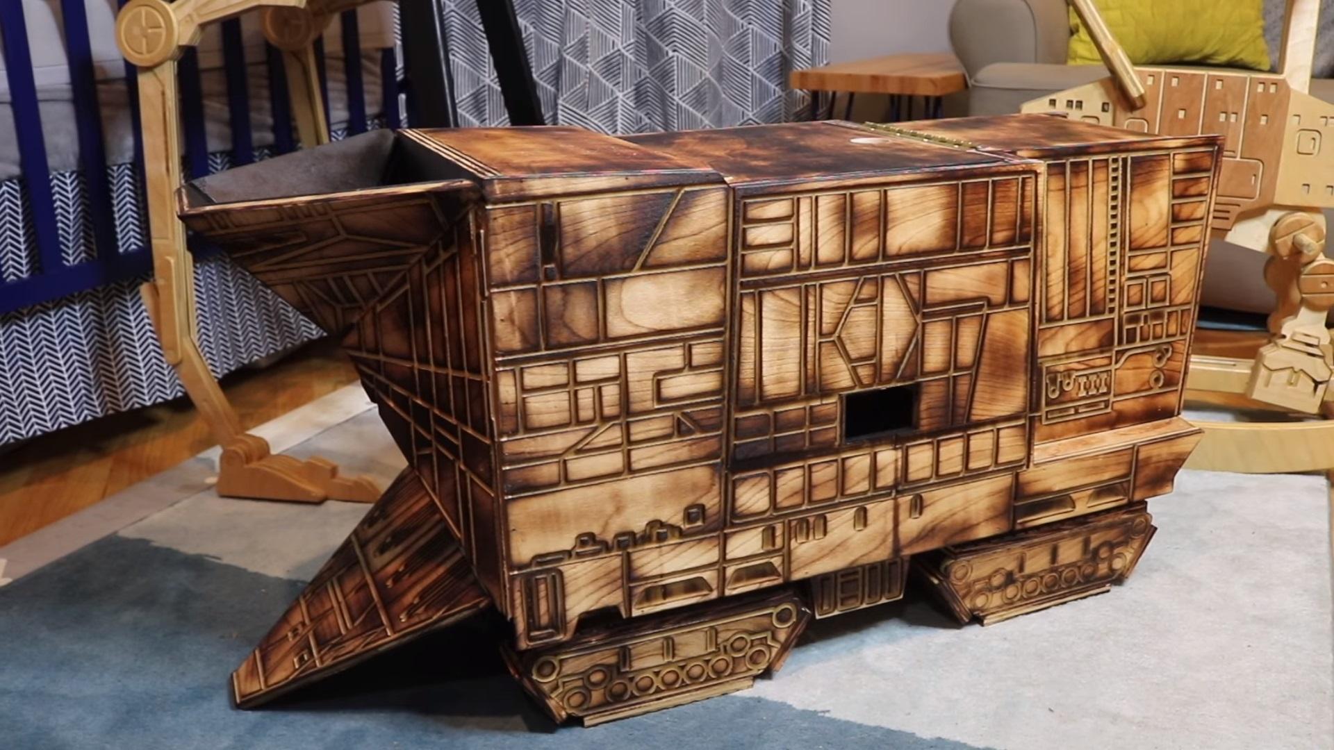 Jawa Sandcrawler Toy Box