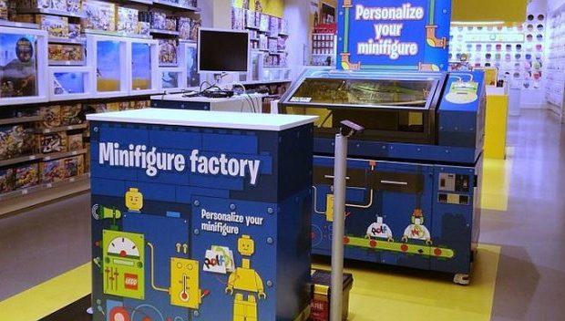 Lego Custom Minifig Machine