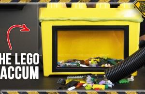 LEGO Storage Case Vacuum Cleaner