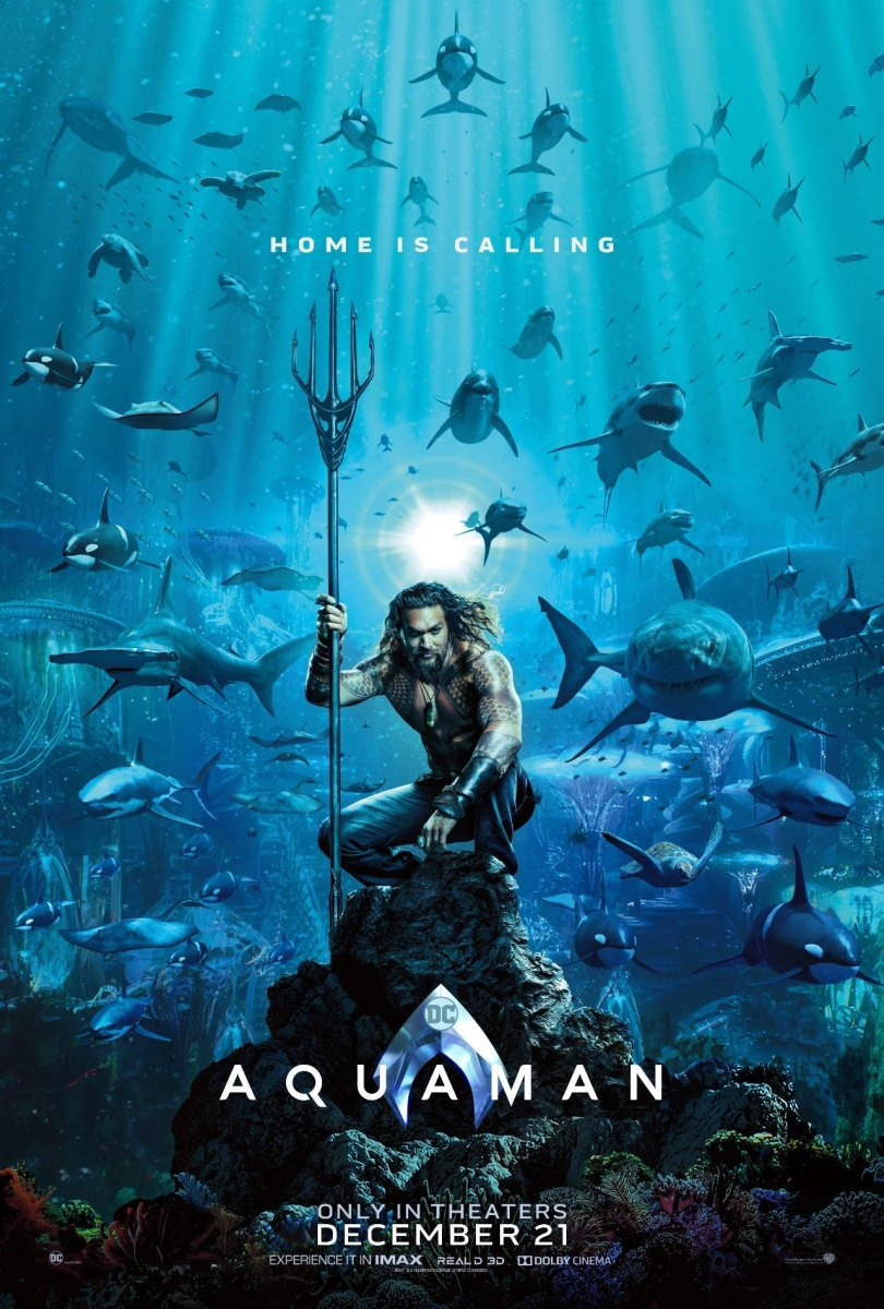 First AQUAMAN Poster Hits The Internet