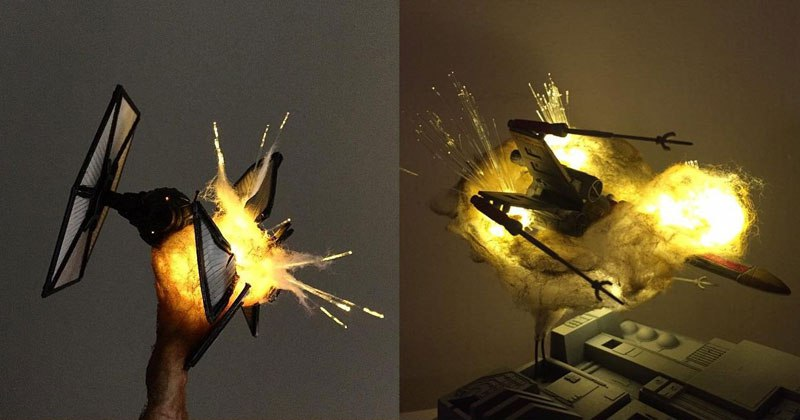 exploding-model-star-wars-ships-using-cotton-balls-and-leds-11