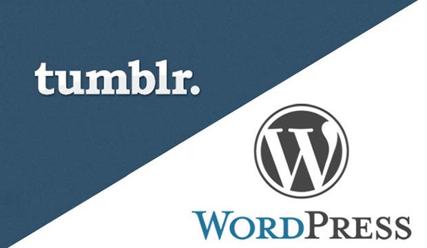 WordPress vs Tumblr