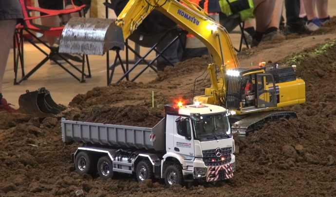 Remote Control Construction Vehicles