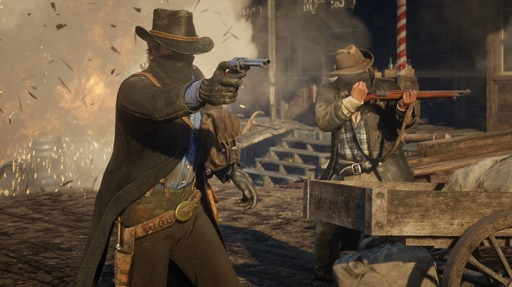 Insanely Badass RED DEAD REDEMPTION 2 Launch Trailer