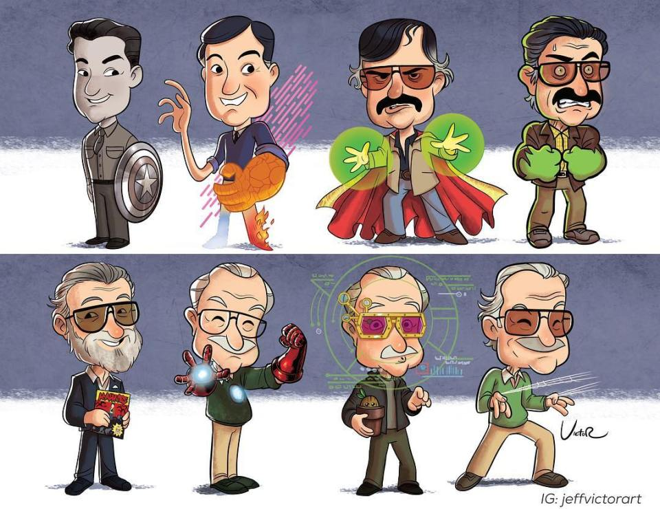 The Evolution of Stan Lee
