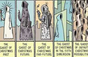 The Evolution of The Ghost of Christmas