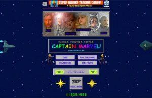 RetroCaptainMarvelWebsite