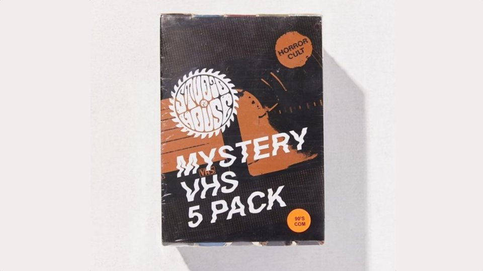 Used VHS Tapes