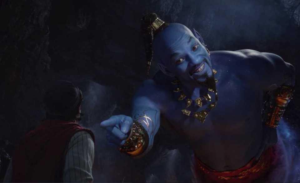 Will Smith's Genie