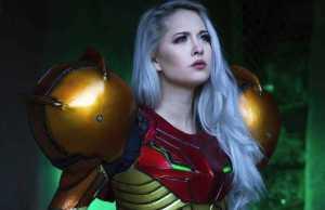 Metroid cosplay