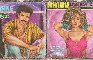 Retro 80s Album Covers