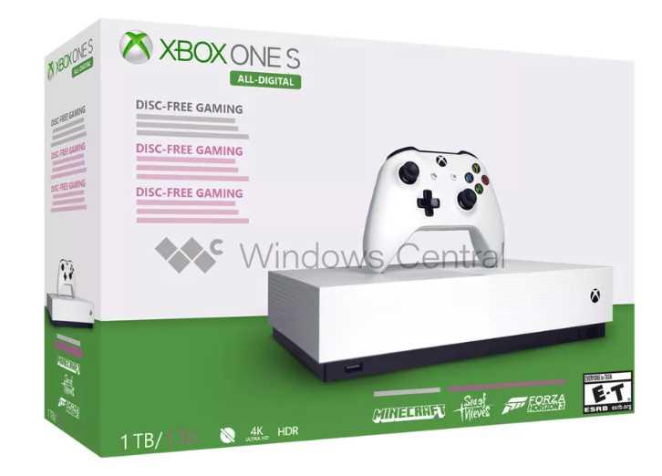 Microsoft's Disc-Less Xbox One S