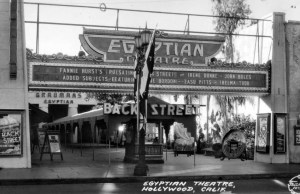 Egyptian Theater in Hollywood