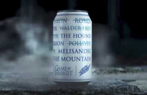 Mountain Dew GAME OF THRONES Can