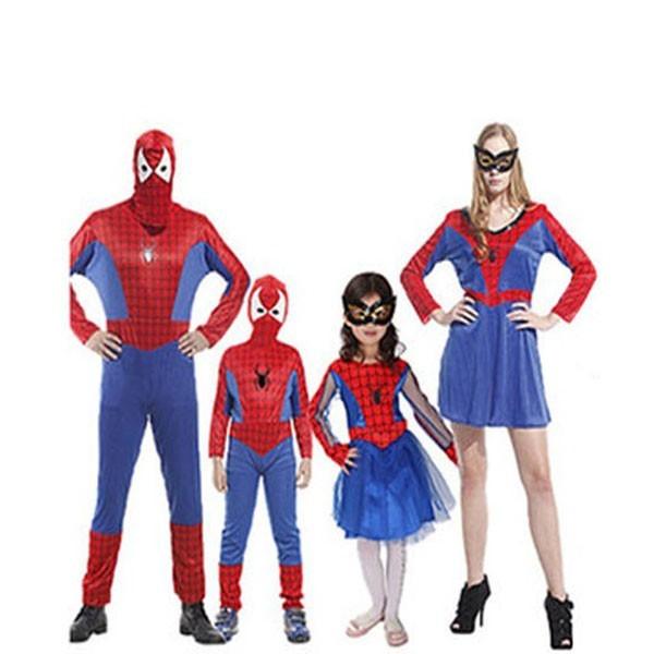 Family Halloween Spiderman costume