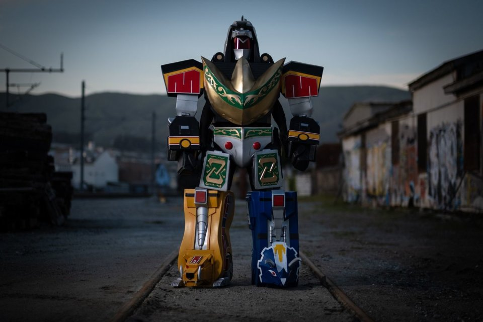 Dragonzord Battle Mode Cosplay