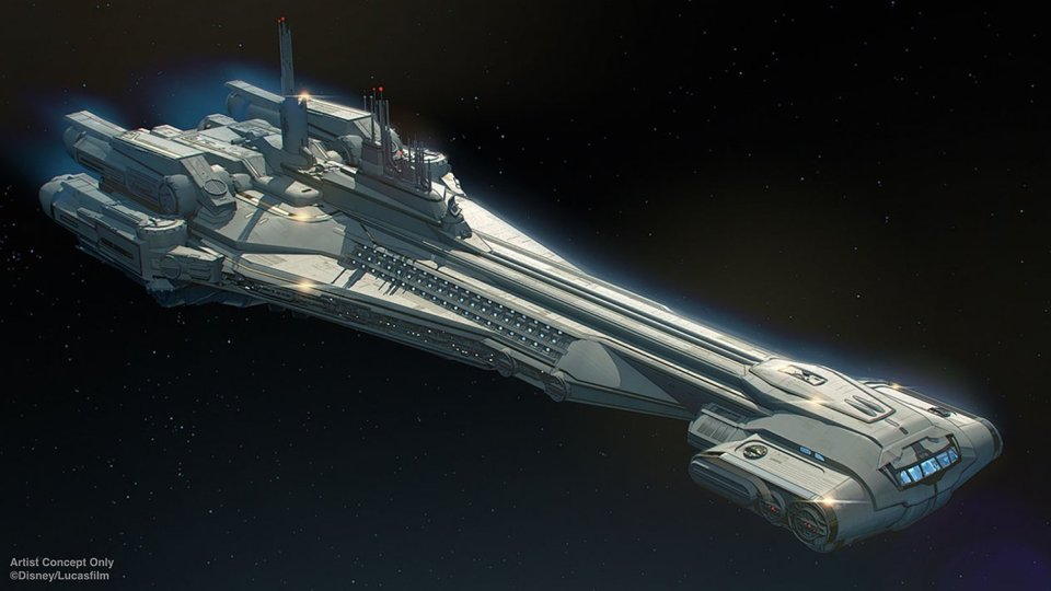 STAR WARS GALAXY'S EDGE Galactic Starcruiser Hotel