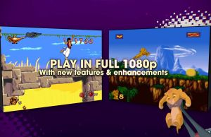 Retro ALADDIN and THE LION KING Games