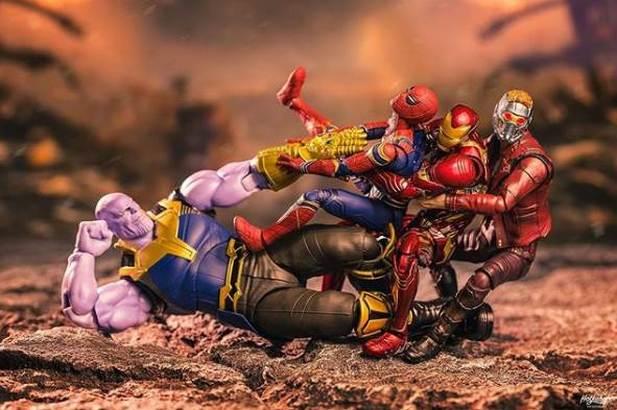 Superhero Action Figures