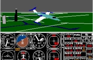 Microsoft Flight Simulator Dos