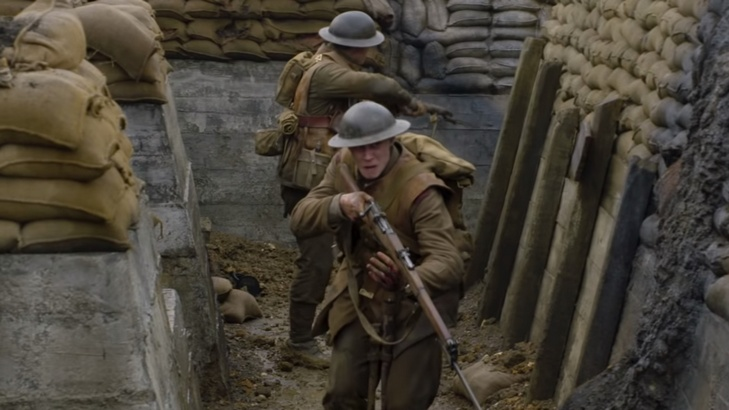 Sam Mendes's WWI Film 1917