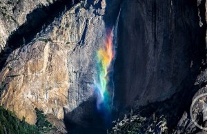 Yosemite 'Rainbowfall'