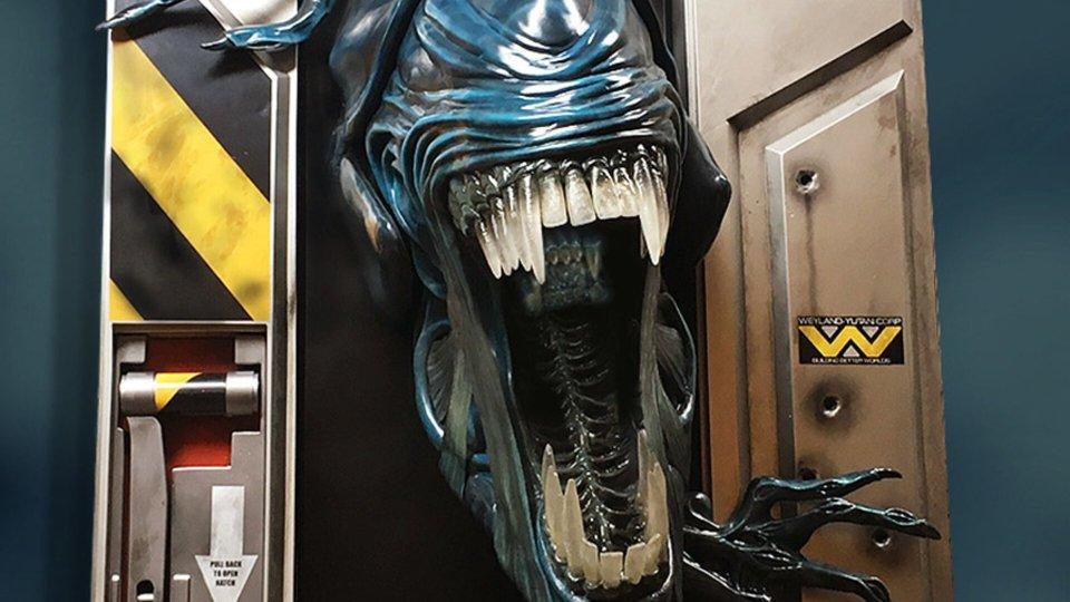 Life-Size Sculpture of The Alien Queen