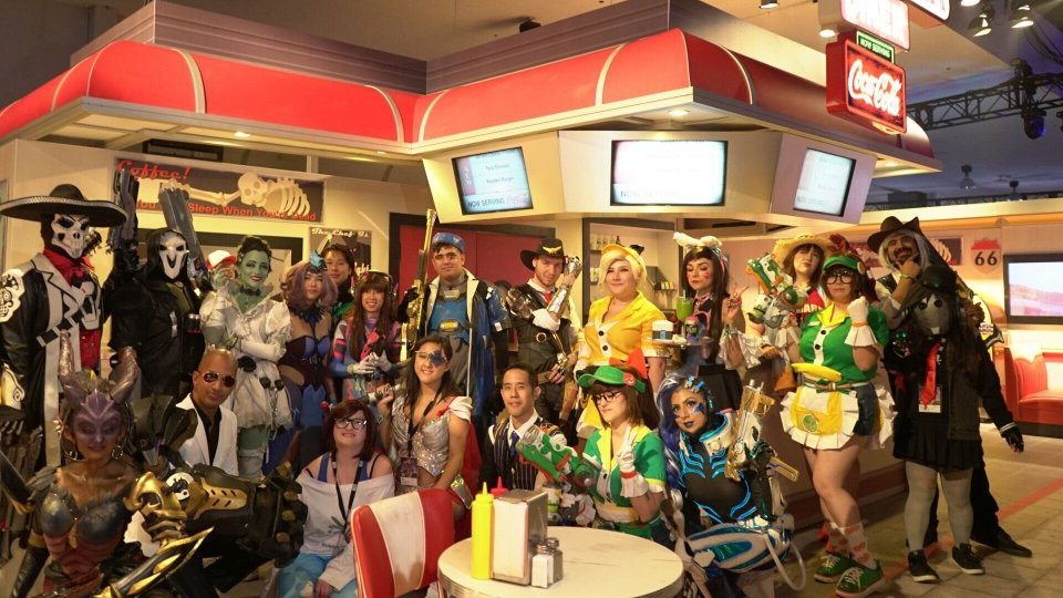 OVERWATCH Cosplayers